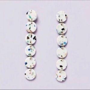 Lele Sadoughi Circle Garland Earrings *NEW*